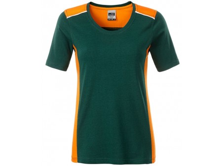 Dark Green - Orange