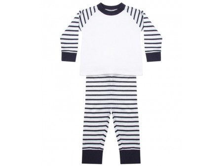 Navy Stripe/ White