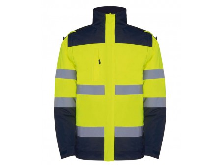 Navy Blue - Fluor Yellow